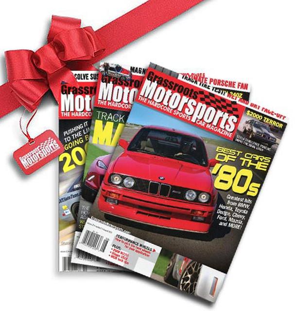 Grassroots Motorsports Forum: Last Call: Half-Price Subscriptions