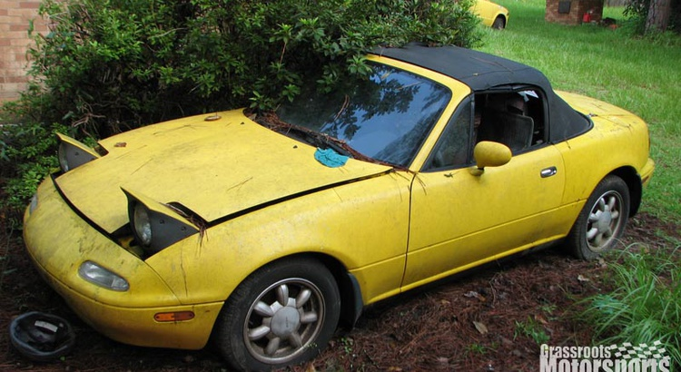 Found a Mazda in Somewhere, GA