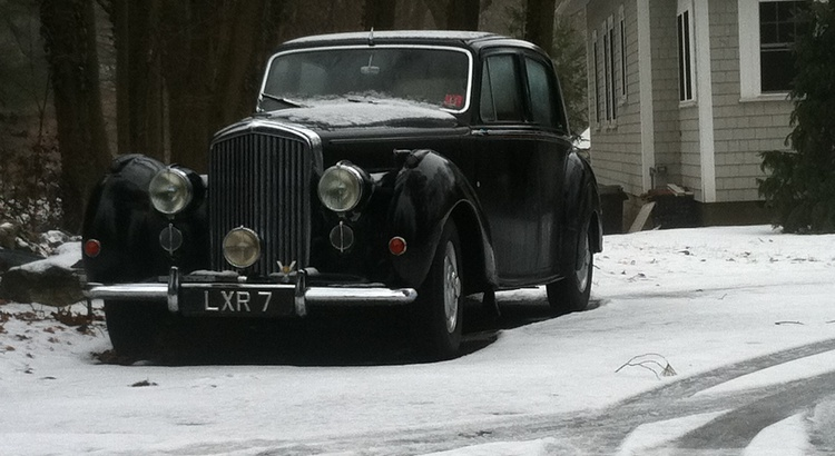 Found a Bentley in Weston, MA
