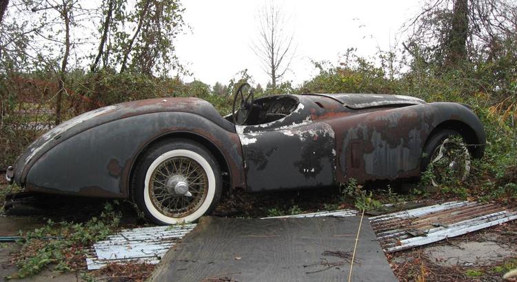 Found a Jaguar in Somewhere In..., NJ