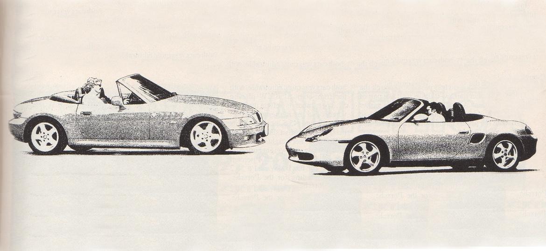 From The Grm Vault Porsche Boxster Vs Bmw Z3 Grassroots