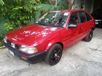 triplockd-Mazda 1988 BF Hatchback