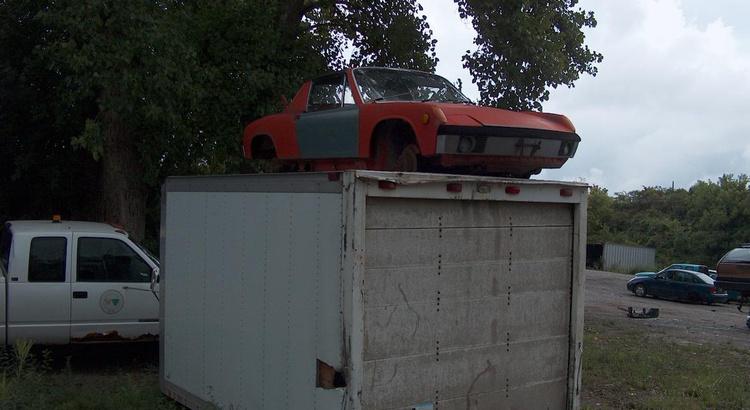 Found a Porsche in Gorham, NY