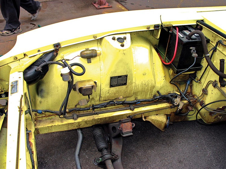 [QNCB_7524]  8 Steps to Clean That Engine Bay | Articles | Classic Motorsports | 240z Wiring Harness |  | Classic Motorsports Magazine