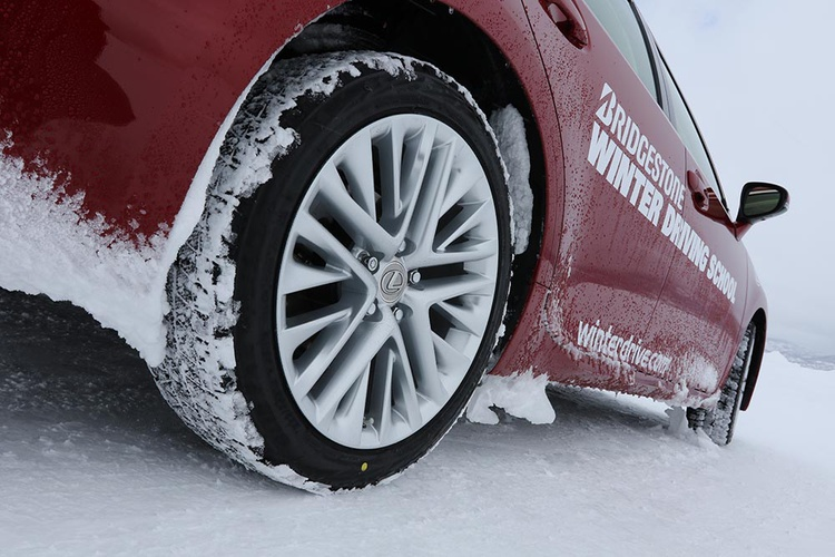 All of the cars are fitted with Bridgestone Blizzak winter tires.