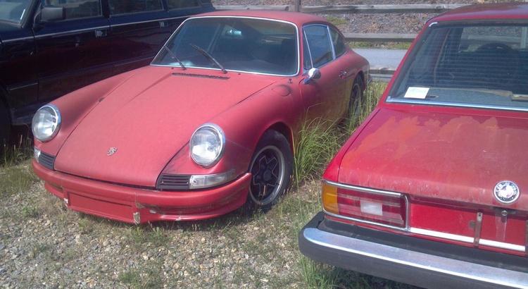 Found a Porsche in Asheville, NC