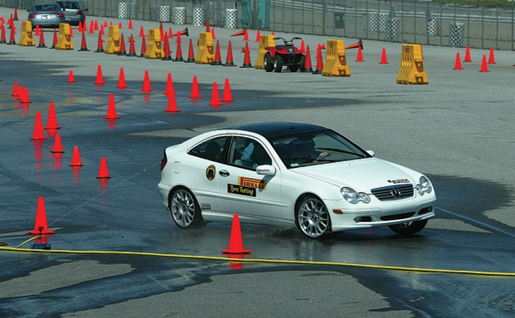 Automotive companies hold ride and drive events, and they need qualified hands to run the show and demonstrate driving talent.