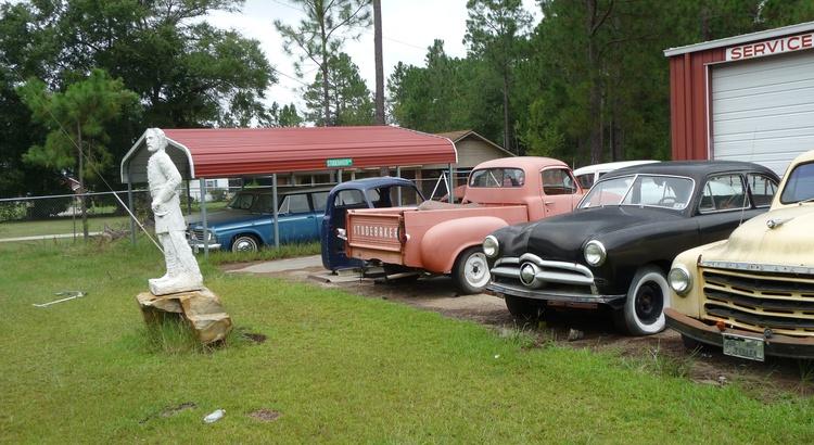 Found a Studebaker in Hazlehurst, GA