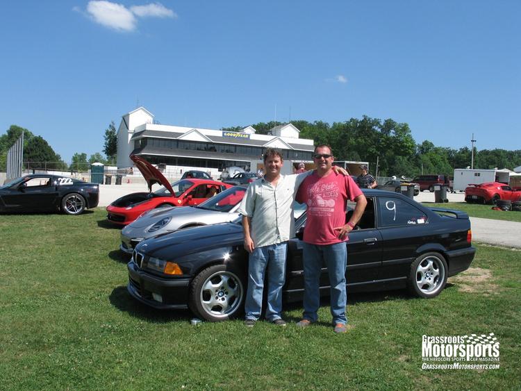 Associate Publisher Joe Gearin and friend Luke Symonds living out their racecar-driver dreams.