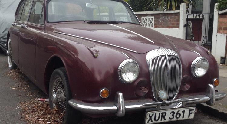 Found a Daimler in Brixton, UK