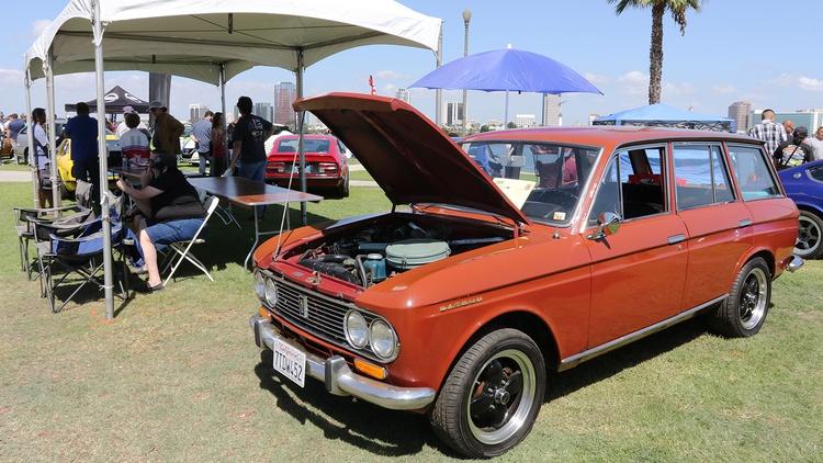 1967 Datsun PL411 Bluebird wagon, too.
