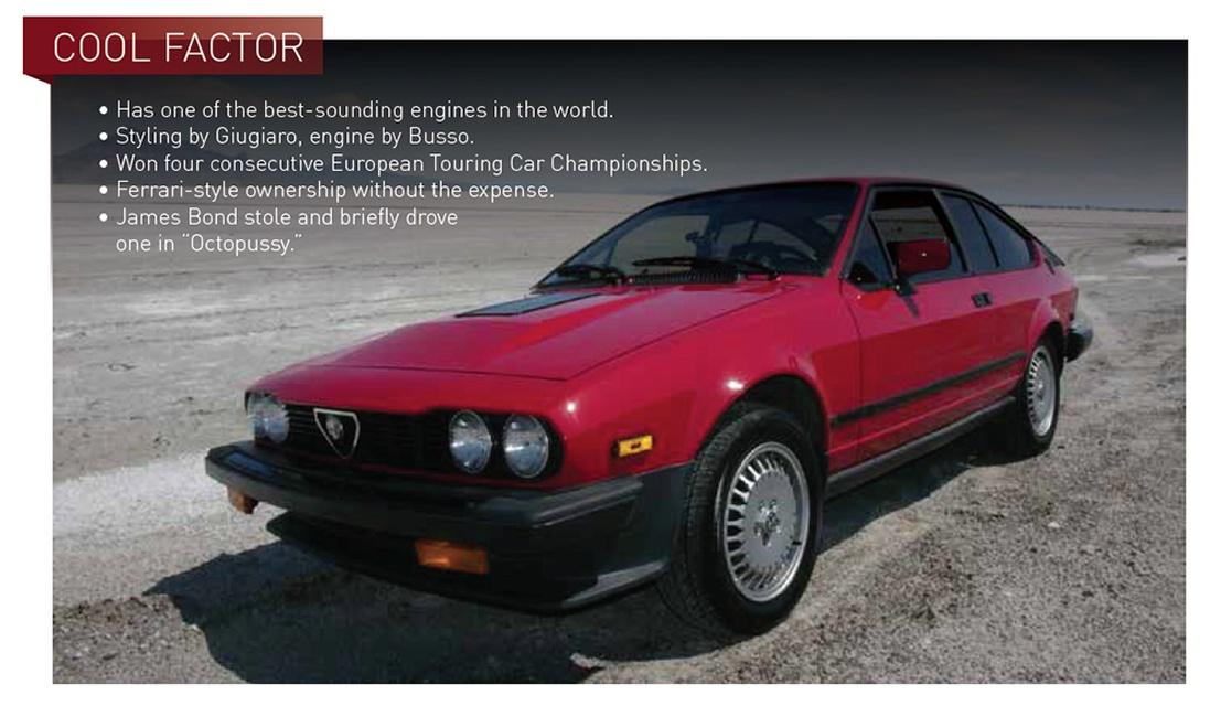 window shopper alfa romeo gtv6 classic motorsports forum. Black Bedroom Furniture Sets. Home Design Ideas