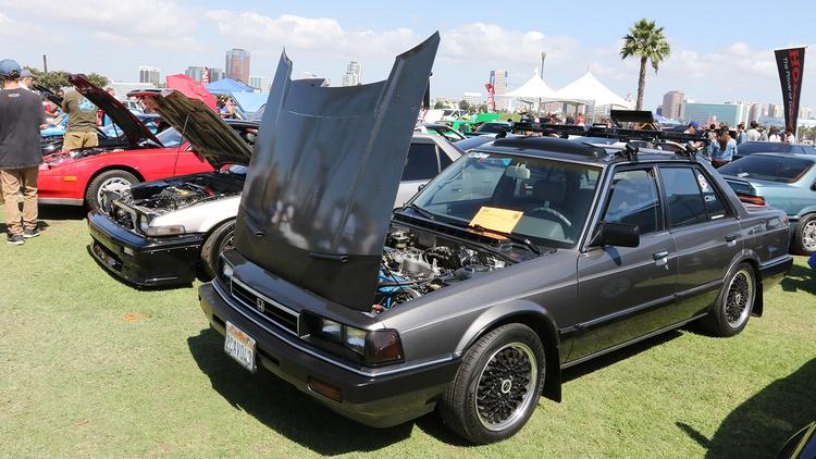 1985 Honda Accord sedan.