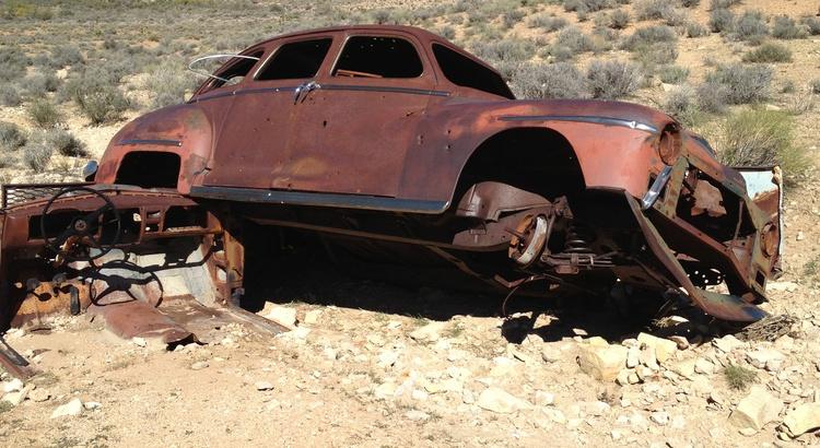 Found a Dodge in Blue Diamond, NV