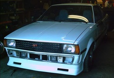 oldeskewltoy-Toyota Corolla AE71 2 dr coupe