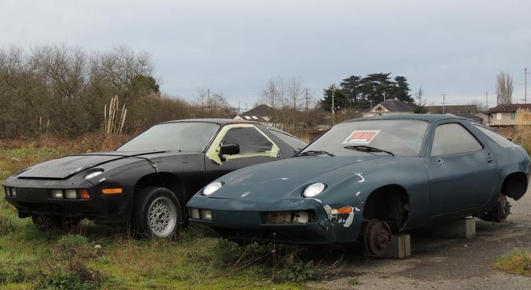 Found a Porsche in Arcata, CA
