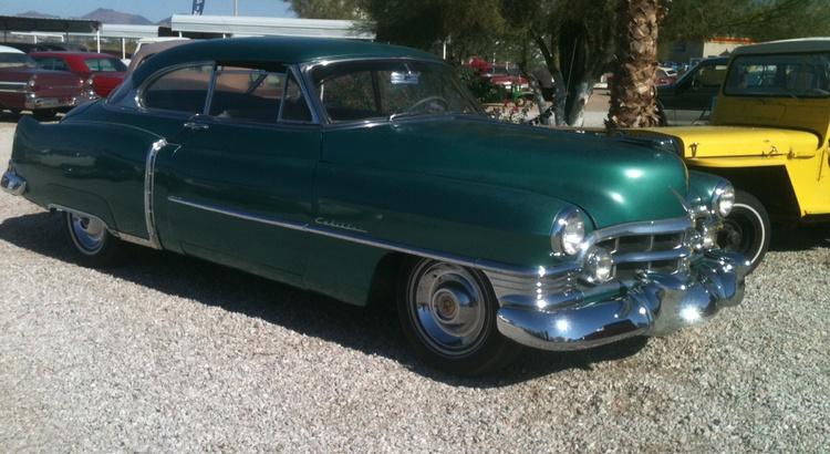 Found a Cadillac in Quartzsite, Az