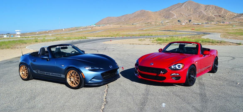 Family Feud: Mazda MX-5 Versus Fiat 124| Grassroots