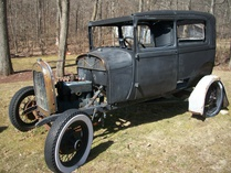 Woody-Ford Model A Tudor