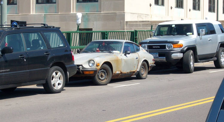 Found a Datsun in Rochester, NY
