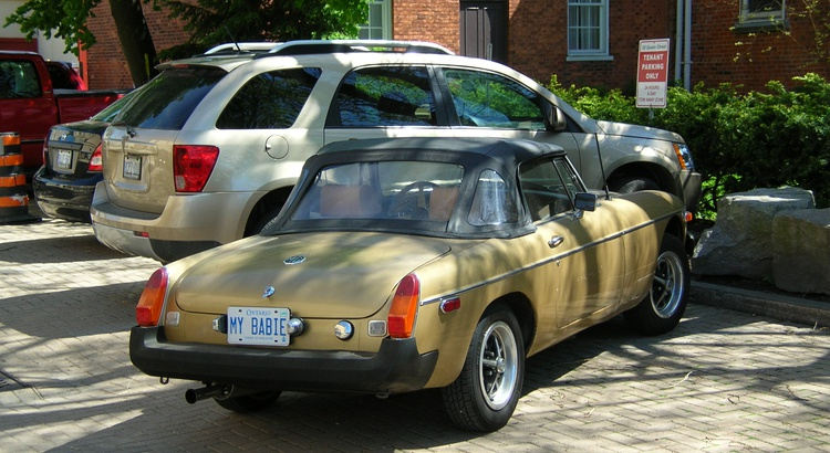 Found a MG in Niagara on the Lake, On