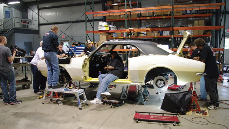 48 Hours: RideTech's 1967 Camaro | Articles | Grassroots