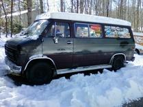 LopRacer-GMC G20 Rally Van