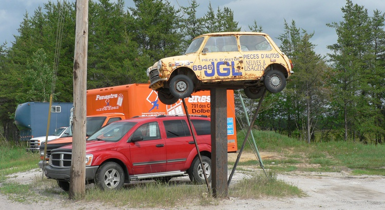Found a Mini in Dolbeau-Mistassini, Qc