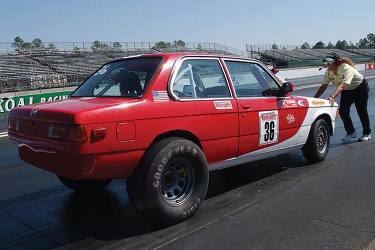 Nick Nicaise & Alan Bateman: 1983 BMW 320i