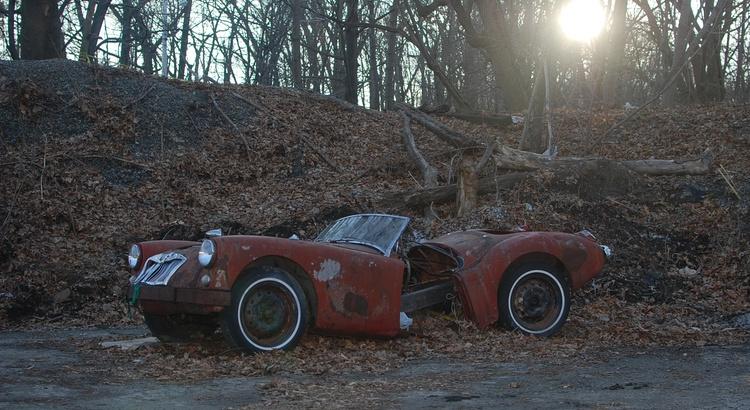 Found a MG in Pawtucket, RI