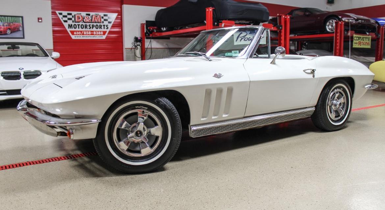 Classic Motorsports Car Catcher: Low-Mile Corvette| Classic ...