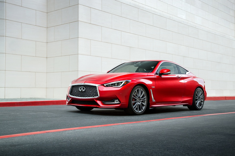 The Days Of Infinitiu0027s Coupe Basically Being A 2+2 Version Of The Nissan Z  Car Are Over. An All New Infiniti Coupe, Now Dubbed The Q60, Debuted For  The 2017 ...