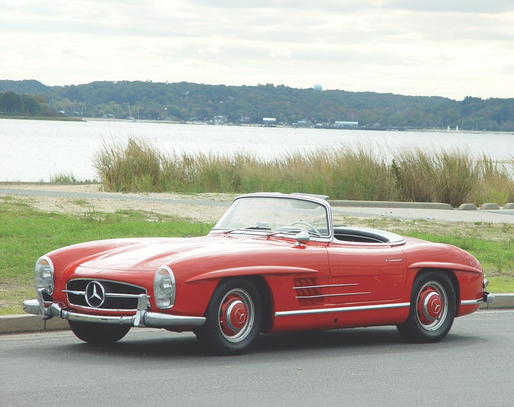 The devil is in the details, and no car provides better than Friedrich Geiger's brilliant 300SL