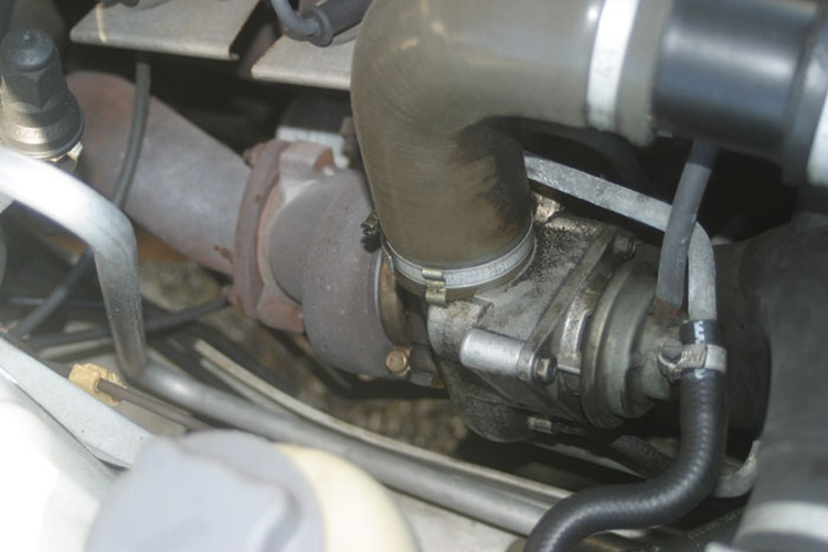 The Volvo Turbos came with Garrett T3, T28 or even Mitsubishi turbochargers.