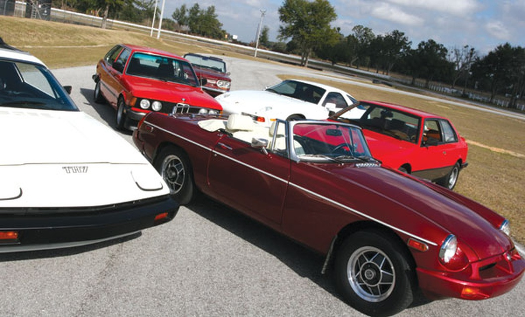 underrated classics corvair, tr7, mgb, 928, and biturbo classic