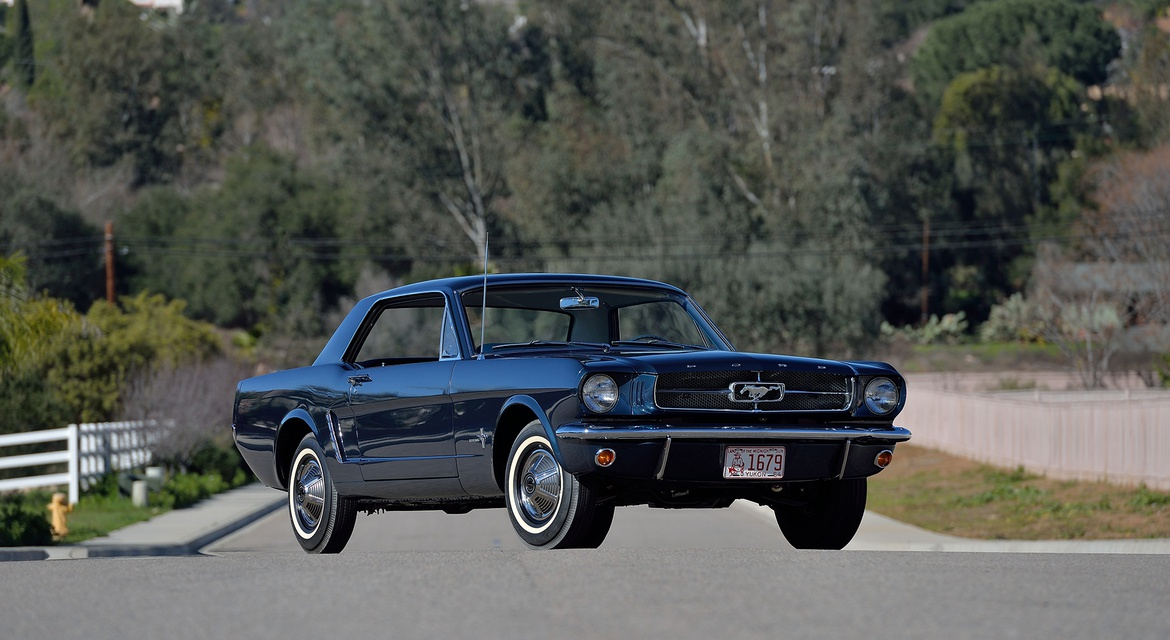 Classic Motorsports Car Catcher: The Very First Mustang Hardtop ...