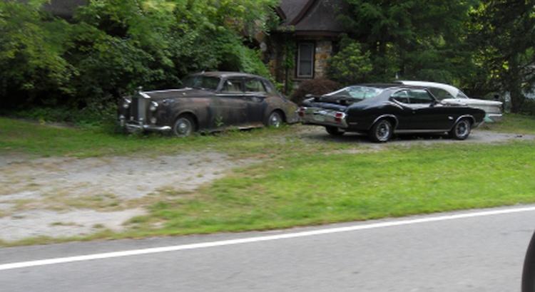 Found a Rolls-Royce in Hendersonville, Nc