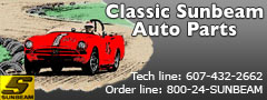 Classic Sunbeam Auto Parts