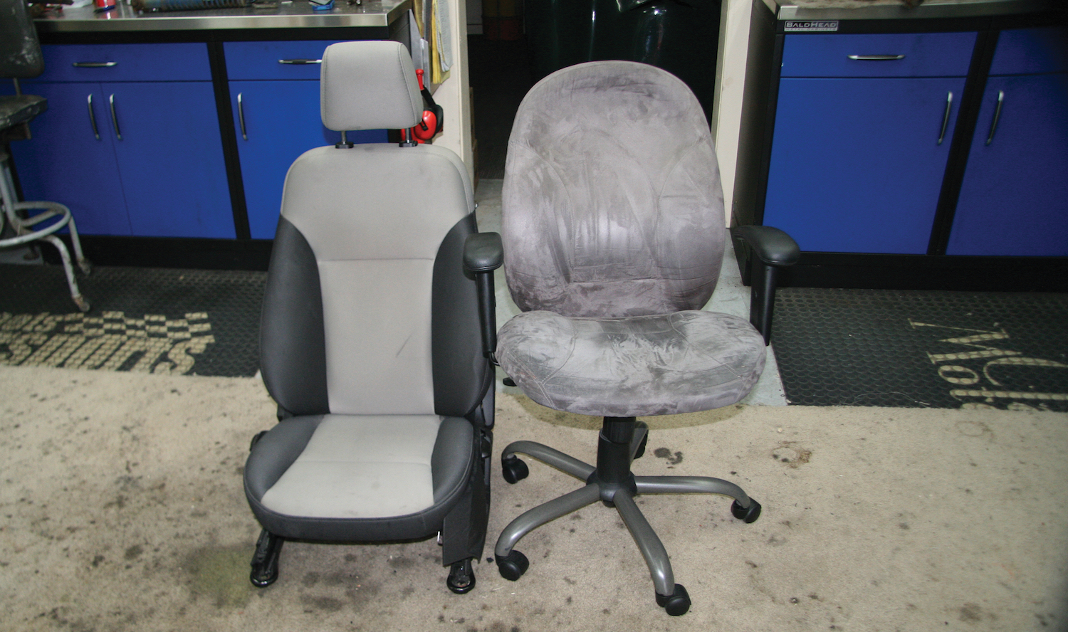 Image of: Turn An Old Car Seat Into A New Office Chair Articles Grassroots Motorsports