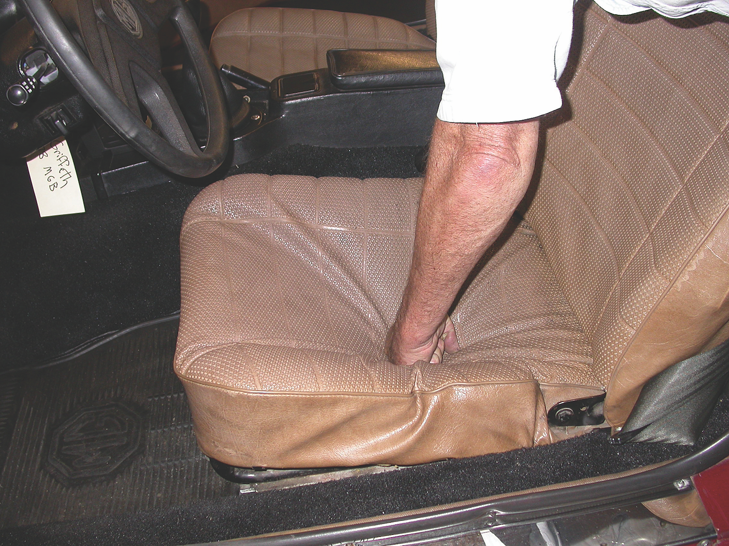 Picture of: How To Easily Restore Classic Car Bucket Seats Articles Classic Motorsports