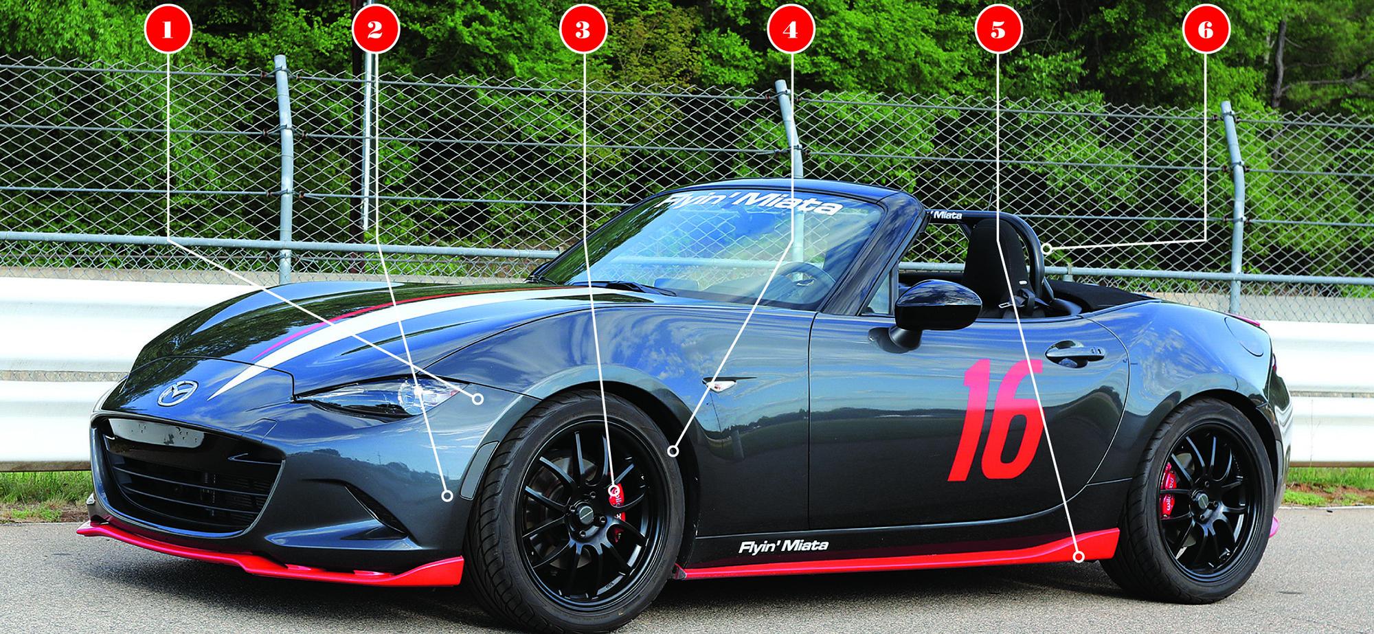 Test Drive: Flyin' Miata's Latest MX-5 | Articles | Grassroots ...