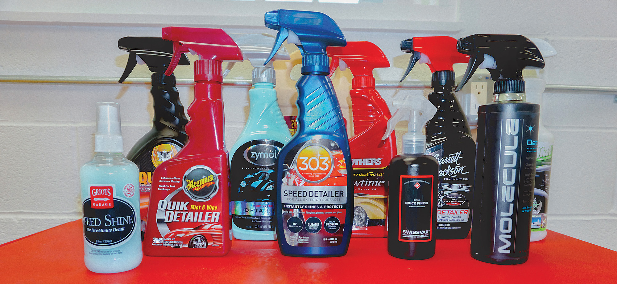 Spray Detailer Comparison Test | Articles | Classic Motorsports