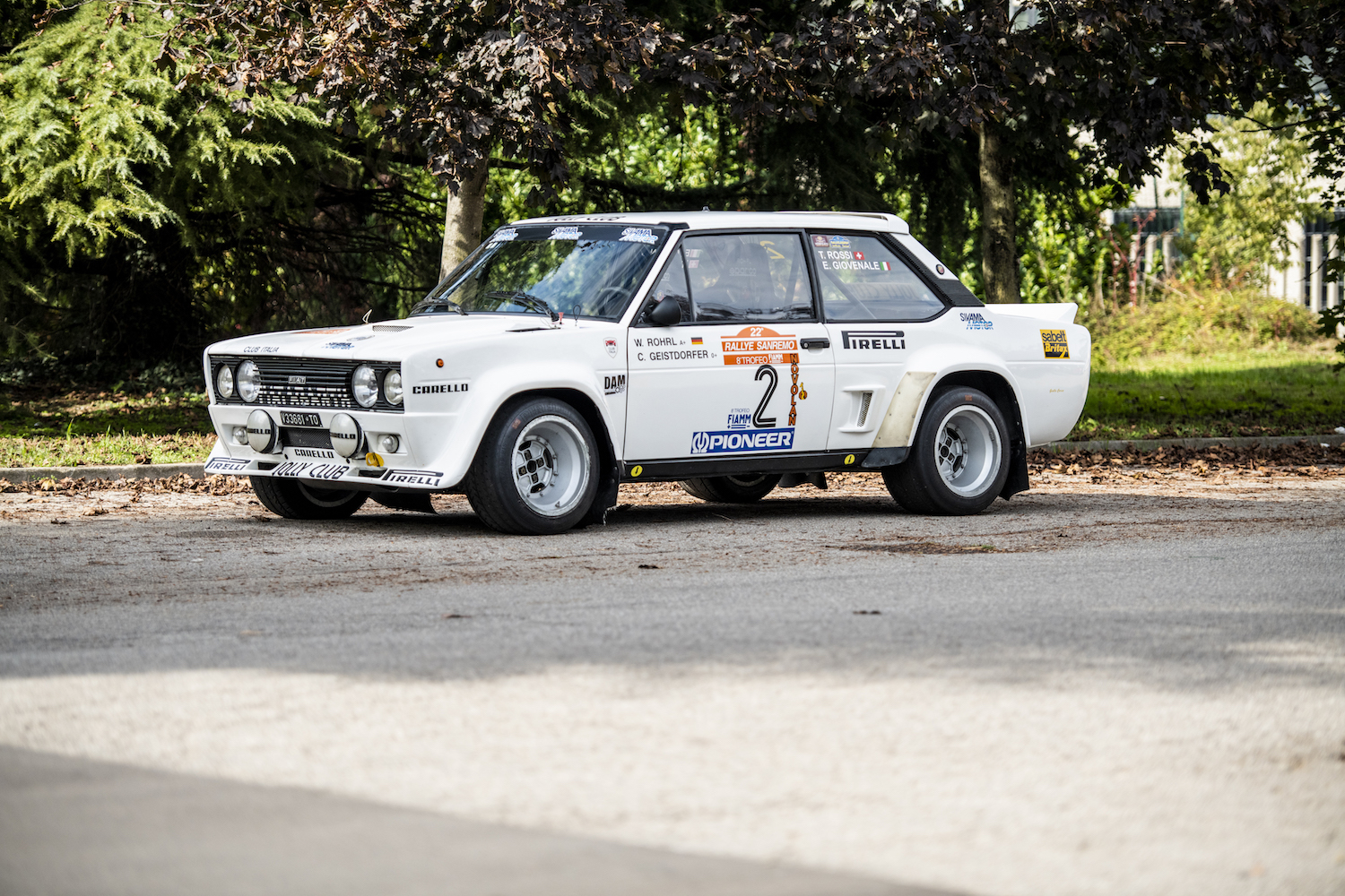 Car Catcher The Fiat 131 Abarth Rally That Walter Rohrl Drove To Vi News Classic Motorsports
