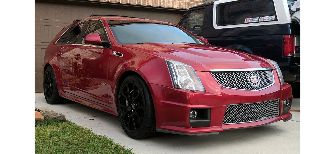 you need this six speed cadillac cts v sport wagon unicorn news grassroots motorsports. Black Bedroom Furniture Sets. Home Design Ideas