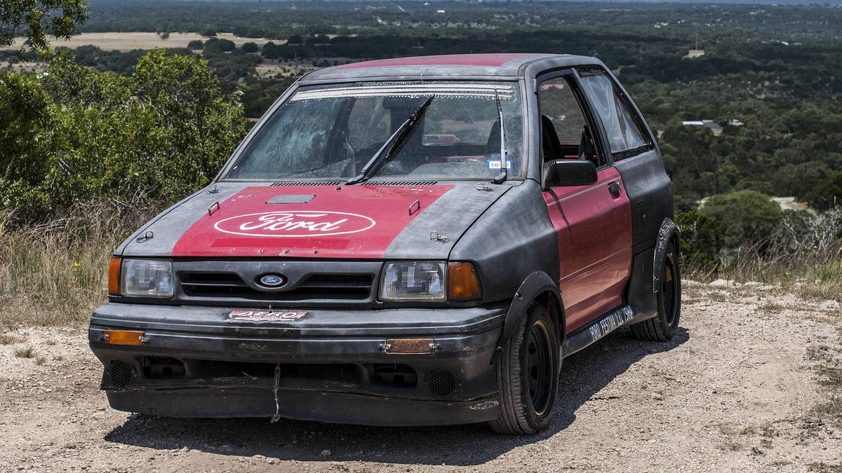 You Need This 1600 Street Racer Ford Festiva