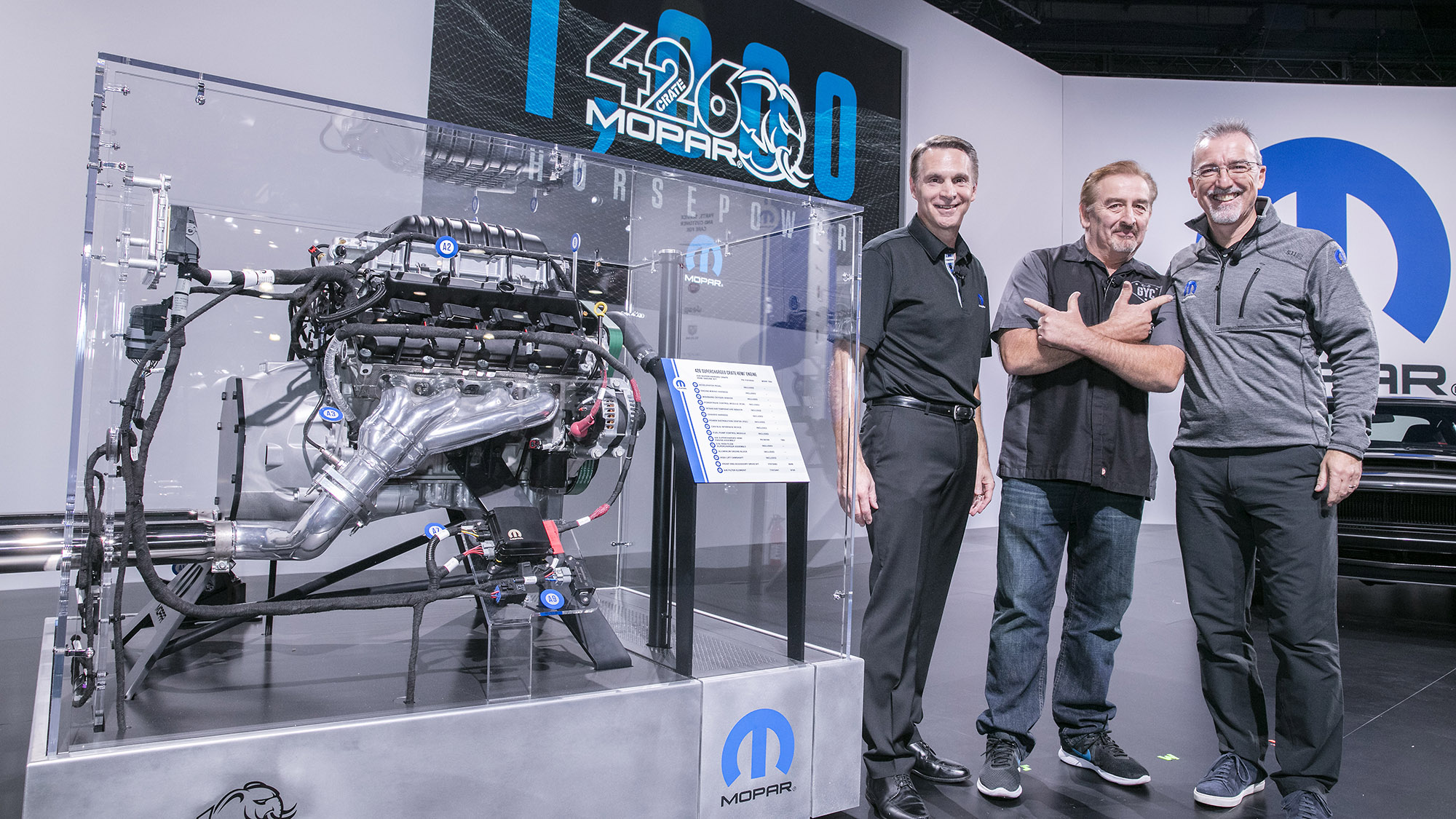 Mopar Hellephant 426 Hemi Crate Engine Boasts 1000 Horsepower