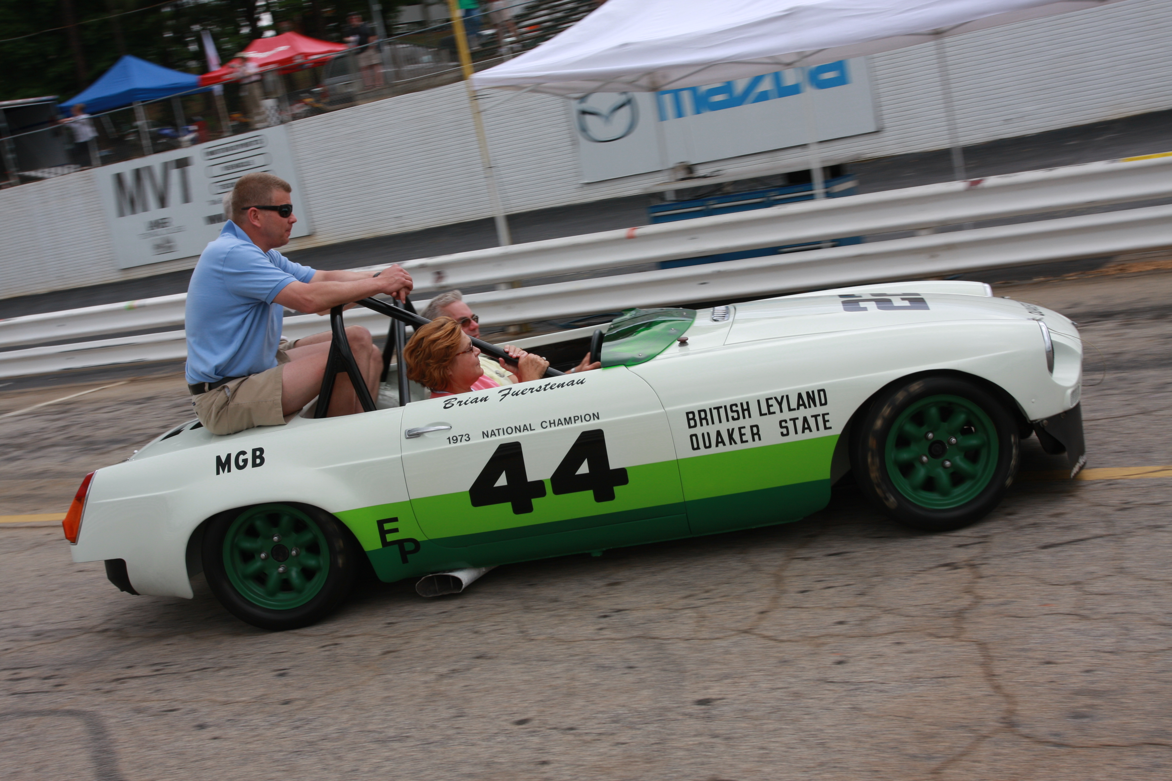 Group 44 MGB Coming to the Mitty | News |