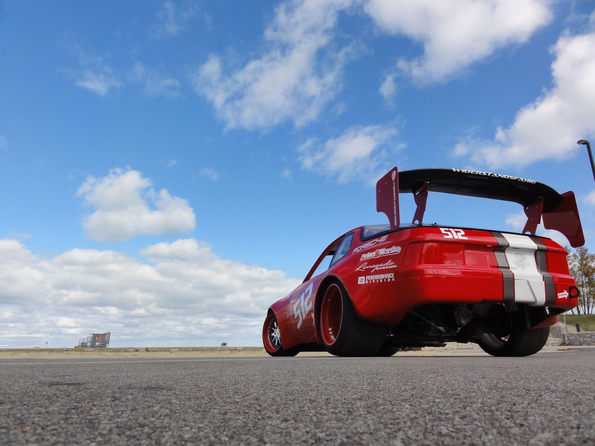 Your Projects Wide Body V8 Powered Porsche 944 News