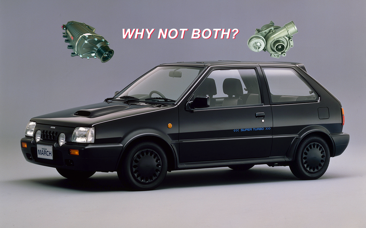 Rate It The Nissan March Super Turbo Was A Twin Charged 1980s Oddit News Grassroots Motorsports