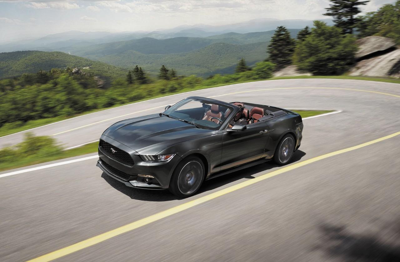2017 Ford Mustang Ecoboost Premium Convertible New Car Reviews Grassroots Motorsports